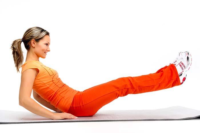 Pilates Übungen 2