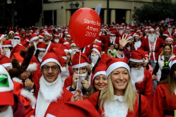 Santa Run Inside