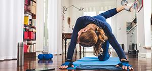 Mulher a fazer exercício | Exercício e Celulite | Holmes Place