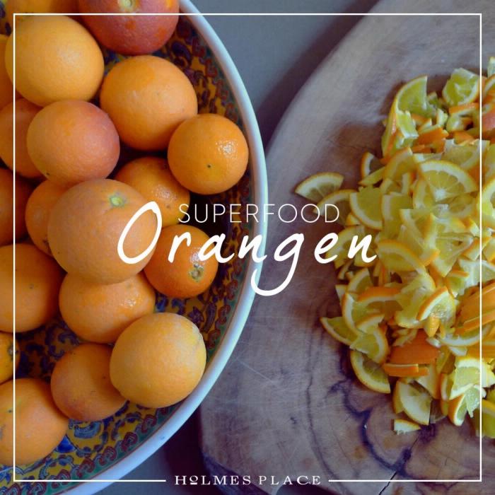 Superfood Orange Gesunde Ernährung