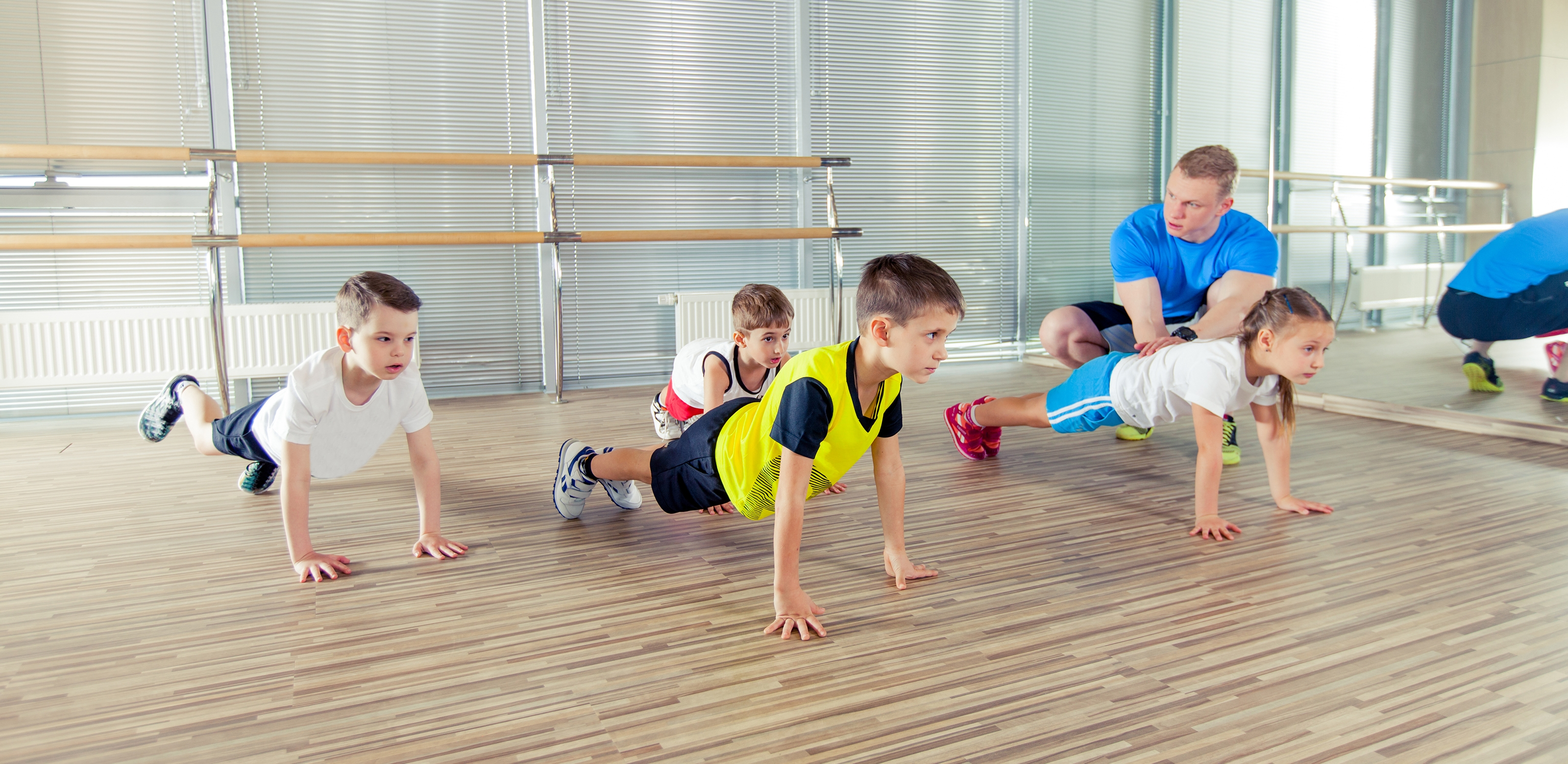Mini Kids Fit | Group Classes | Holmes Place Germany