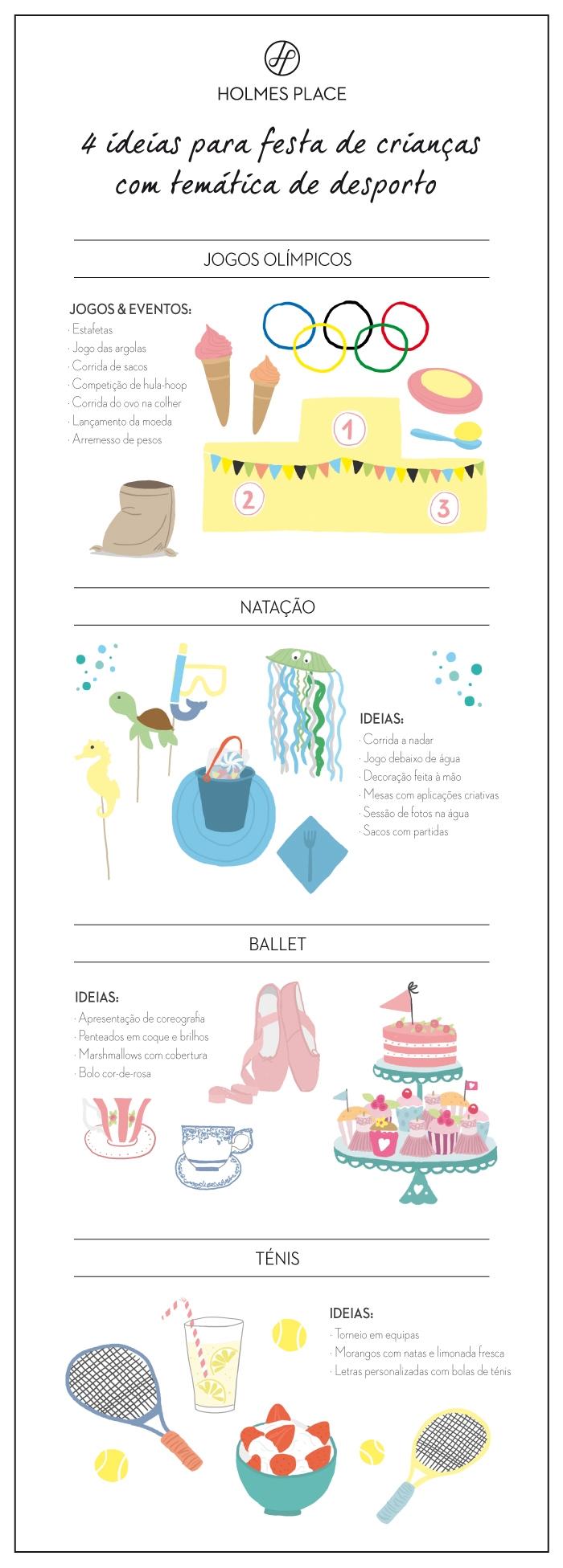 infográfico party kids