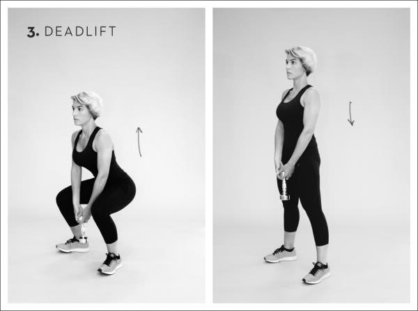 Rücken Übungen Kreuzheben