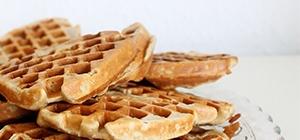 waffles de batata doce