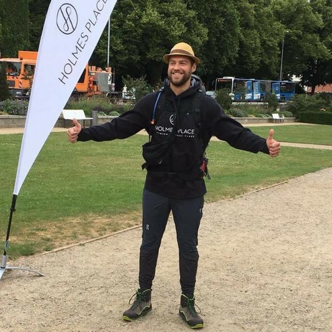 Florian startet seine Reise
